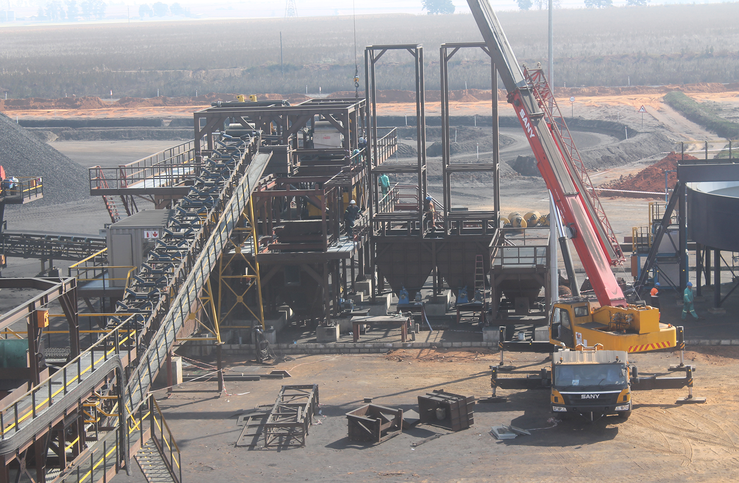Mineral Resources Development Plant